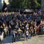 V Banskej Bystrici protestovalo proti novele zákona o ochrane prírody viac ako 1 500 nespokojných občanov